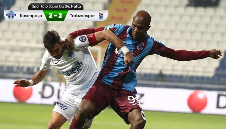 Kasımpaşa 2-2 Trabzonspor maç özeti ve golleri (İZLE)