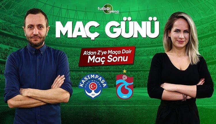 Kasımpaşa - Trabzonspor maç özeti | FutbolArena canlı yayın