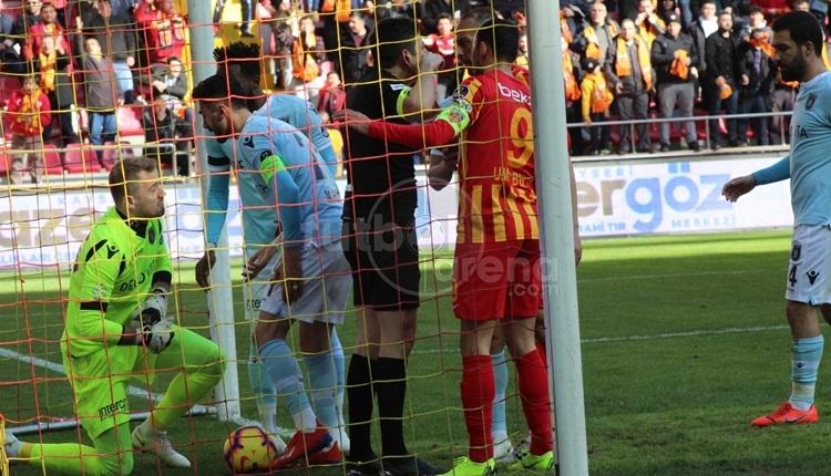 Kayserispor - Başakşehir maçına damga vuran VAR pozisyonu