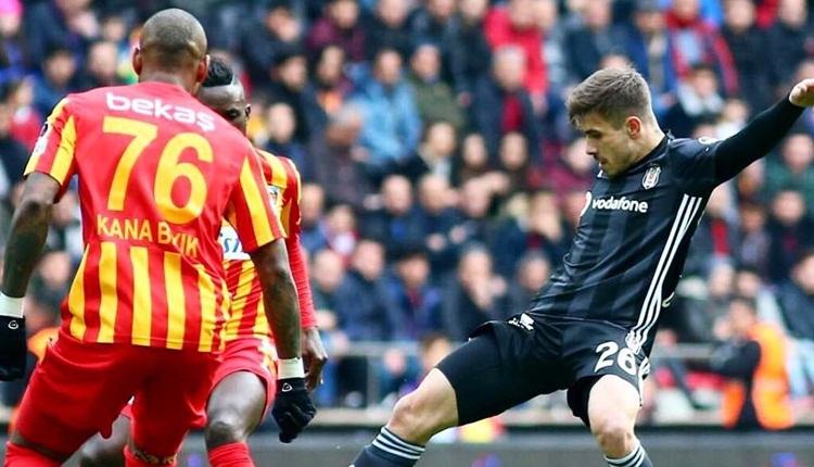 Kayserispor'dan Beşiktaş tepkisi! 'Galibiyetimiz çalındı'