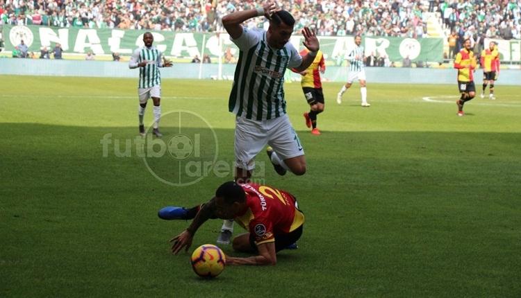 Konyaspor 1-1 Göztepe maç özeti ve golleri (İZLE)