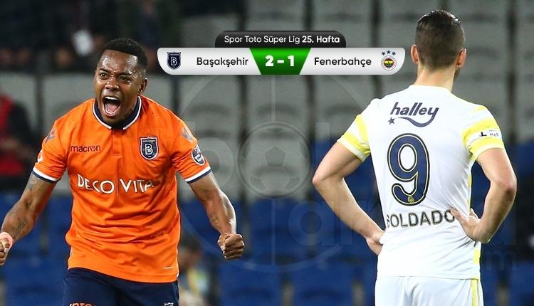 Lider Başakşehir, Fenerbahçe engelini geçti (İZLE)
