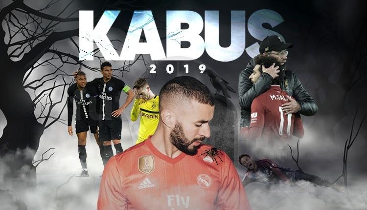 Liverpool, Real Madrid, Dortmund, Kasımpaşa... 2019 kabus oldu