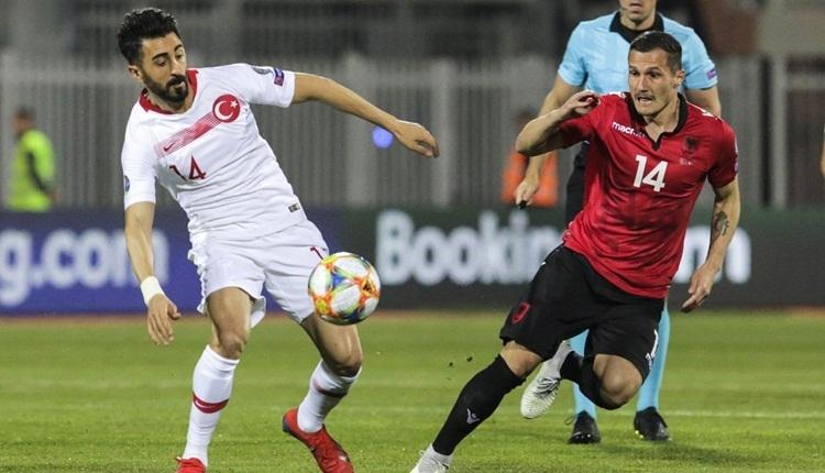 Mahmut Tekdemir, Arnavutluk maçının gizli kahramanı oldu