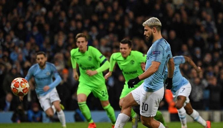 Manchester City 7-0 Schalke maç özeti ve golleri İZLE
