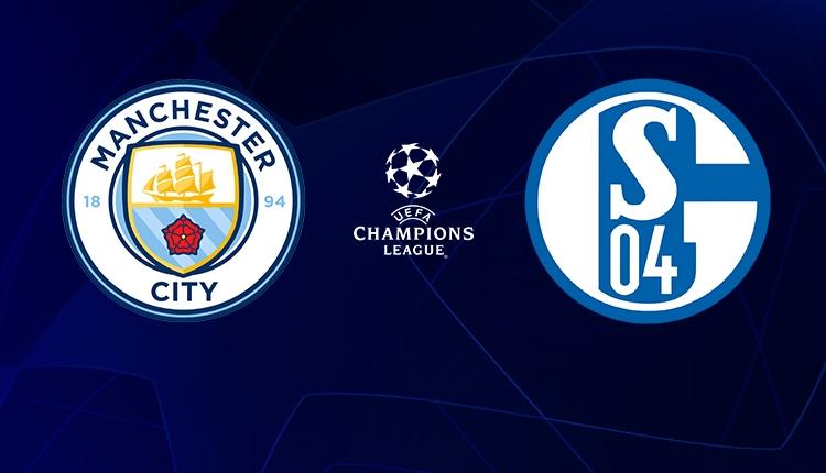 Manchester City - Schalke canlı, şifresiz izle (BeIN Sports Şampiyonlar Ligi izle)