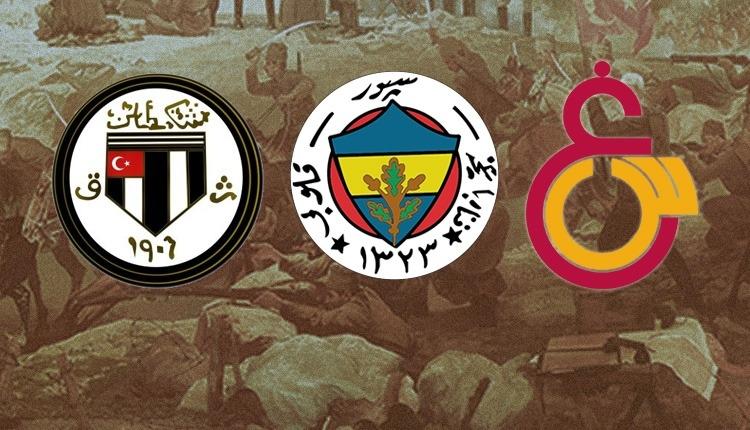 'Önce Vatan' diyerek cepheye koştular (Fenerbahçe, Galatasaray ve Beşiktaş'ın Çanakkale'de şehit düşen futbolcuları)