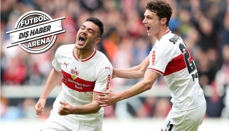 Ozan Kabak'ın Stuttgart - Hannover maçında attığı goller