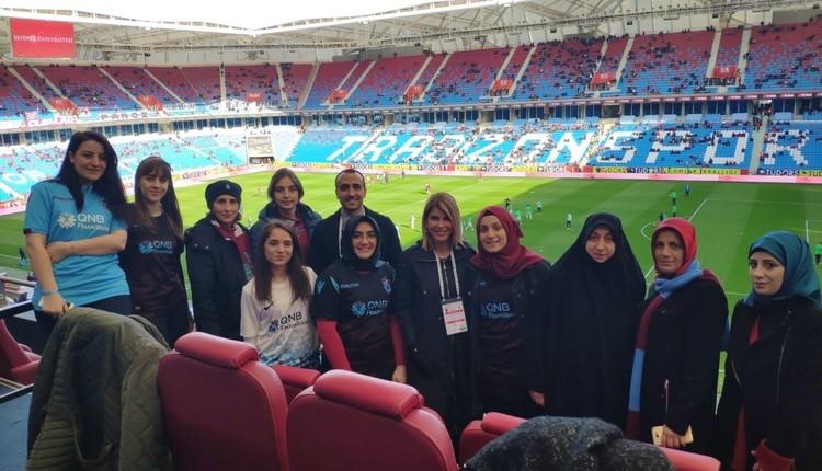 Passolig ile Trabzonspor'dan kadınlara jest
