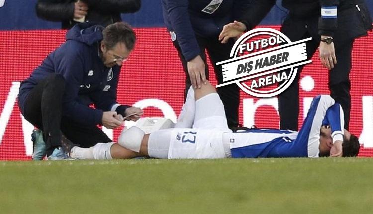 Porto'da Alex Telles şoku! Penaltı atarken sakatlandı