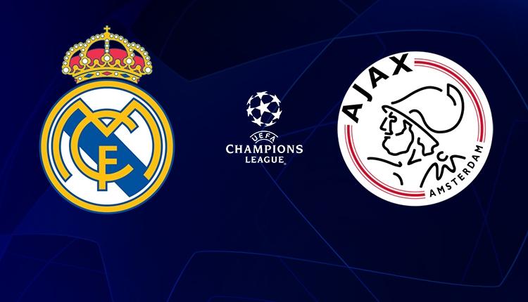 Real Madrid - Ajax maçı canlı izle (Real Ajax BeIN Sports izle)