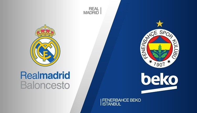 Real Madrid Fenerbahçe Beko canlı ve şifresiz izle (Real Madrid Fenerbahçe Beko beIN Sports Haber İZLE)