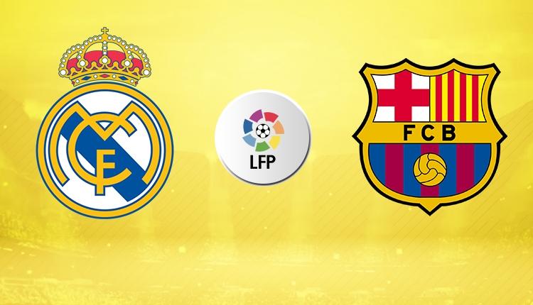 Real Madrid - Barcelona muhtemel ilk 11'ler (Real Barça canlı izle)