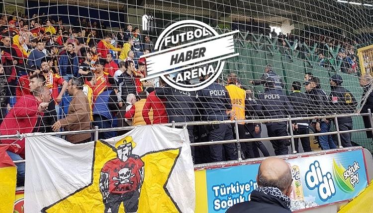 Rizespor - Kayserispor maçında olay! Hikmet Karaman'a protesto