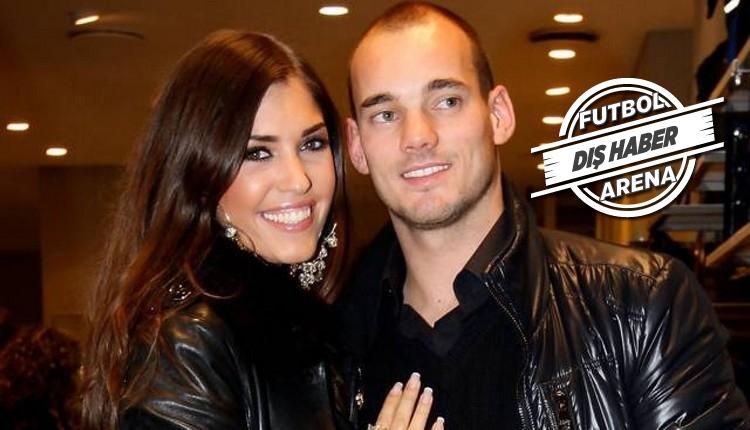 Sneijder - Yolanthe çiftinden sürpriz! Tedavi olacak