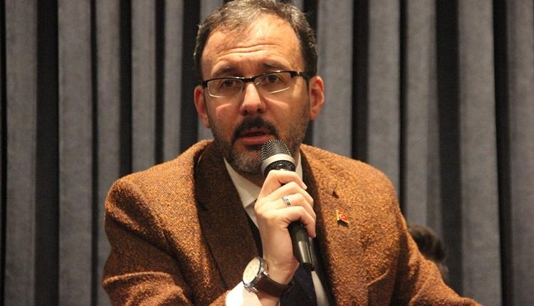 Spor Bakanı Mehmet Kasapoğlu'ndan yabancı kuralı açıklaması