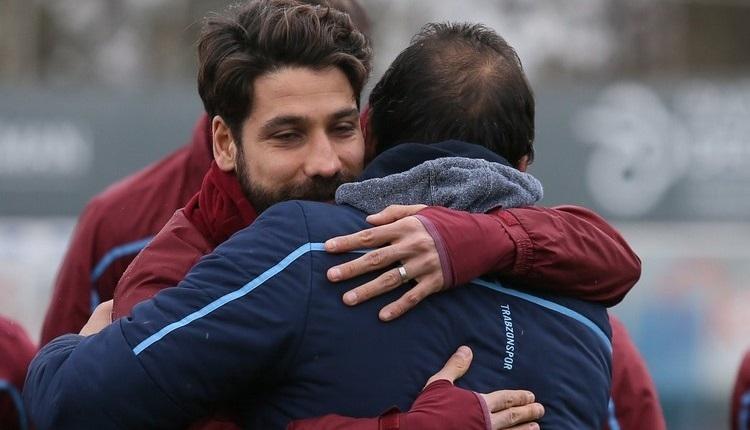 Trabzonspor'dan Olcay Şahan sürprizi! Sözleşmesi değişti