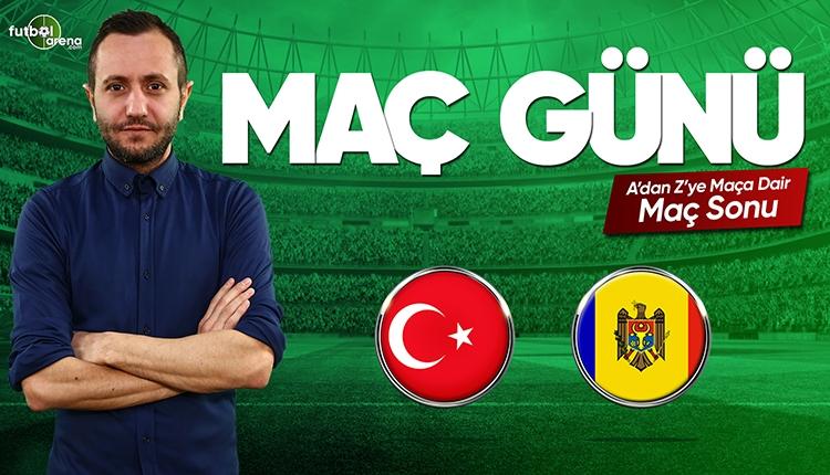 Türkiye - Moldova maç özeti ve golleri | (CANLI)