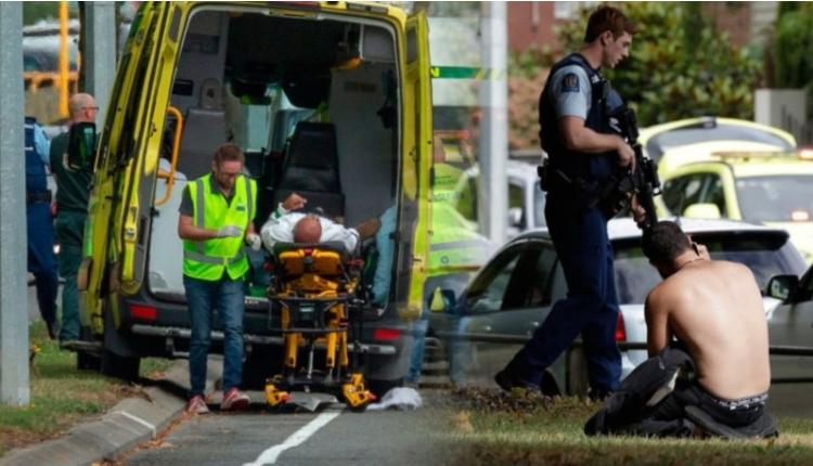 Yeni Zelanda'da camiye saldırı anı görüntüleri ortaya çıktı