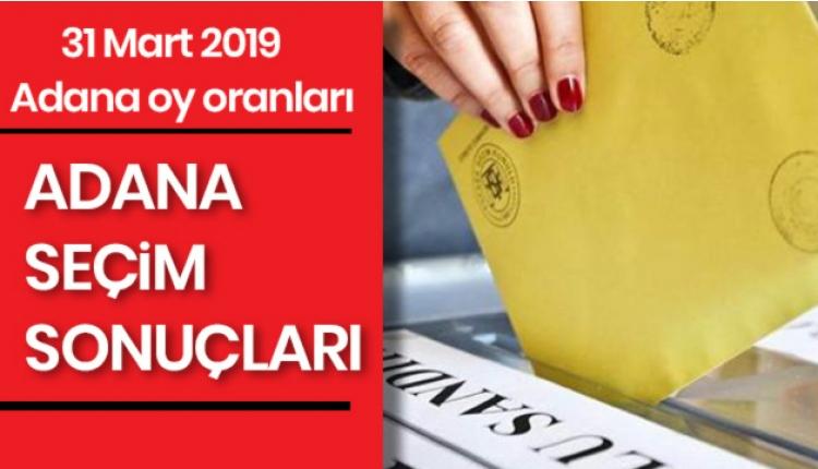 Adana 31 mart seçimde kim önde gidiyor? - 2019 Adana seçim sonuçları (Halk TV seçim sonuçları CANLI)