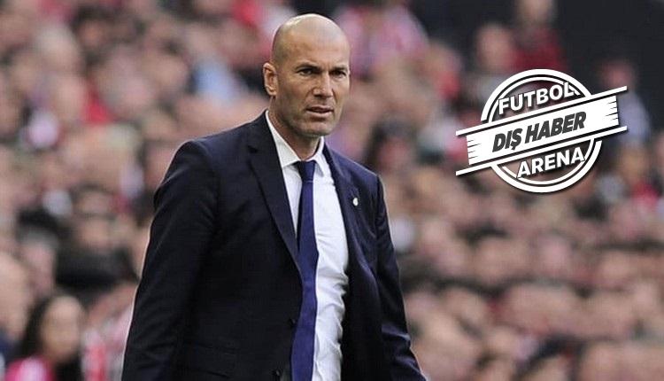 Zinedine Zidane Real Madrid'e döndü! Resmen açıklandı