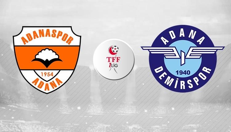 Adanaspor Adana Demirspor canlı ve şifresiz izle (Adanaspor Adana Demirspor beIN Sports Max İZLE)