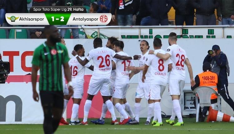 Akhisarspor 1-2 Antalyaspor maç özeti ve golleri (İZLE)