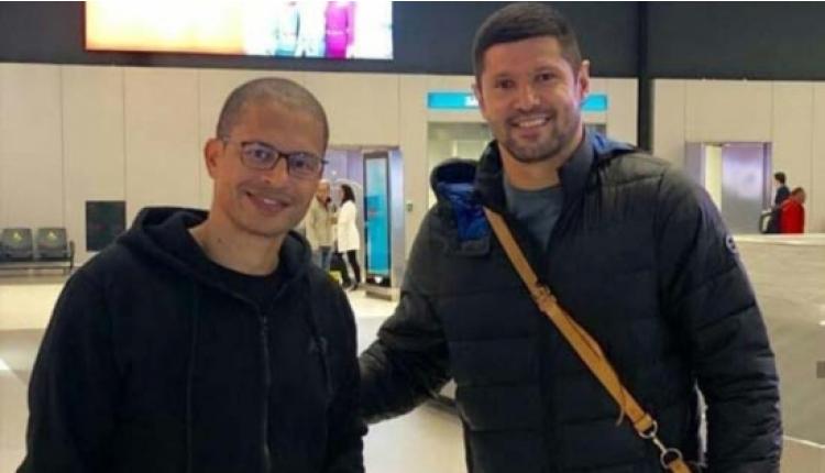 Alex ve Luciano, Galatasaray derbisi için İstanbul'da