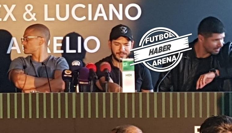 Alex ve Luciano'dan Beşiktaş & Galatasaray cevabı: 'Asla!'