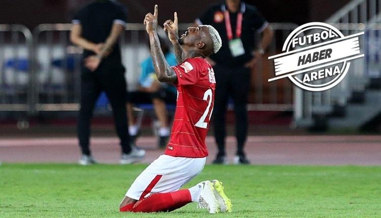 Anderson Talisca'dan Çin'de 2 gol daha! Şov devam ediyor (İZLE)