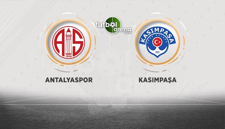 Antalyaspor Kasımpaşa canlı şifresiz beIN Sports İZLE