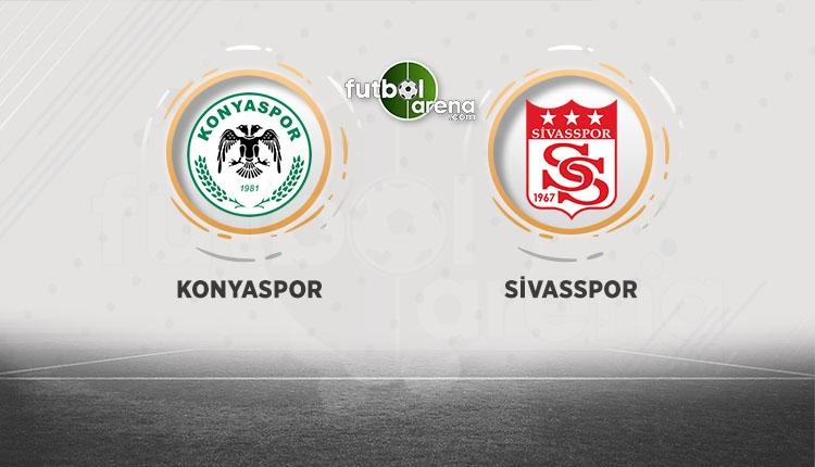 Atiker Konyaspor - Sivasspor canlı, şifresiz izle (BeIN Sports izle)