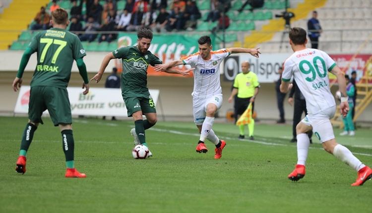 Aytemiz Alanyaspor 1-0 Bursaspor maç özeti ve golü (İZLE)