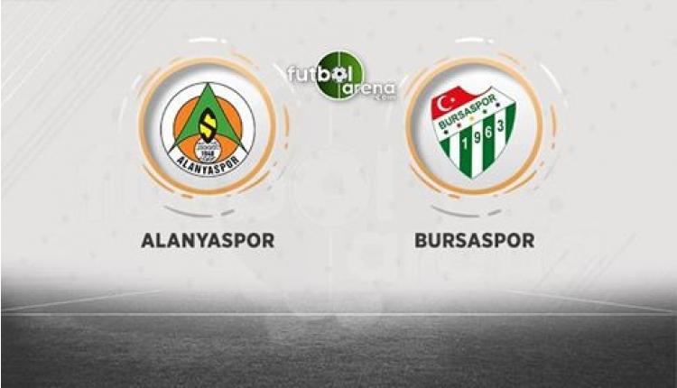 Aytemiz Alanyaspor - Bursaspor canlı, şifresiz izle (Alanyaspor Bursaspor canlı izle)