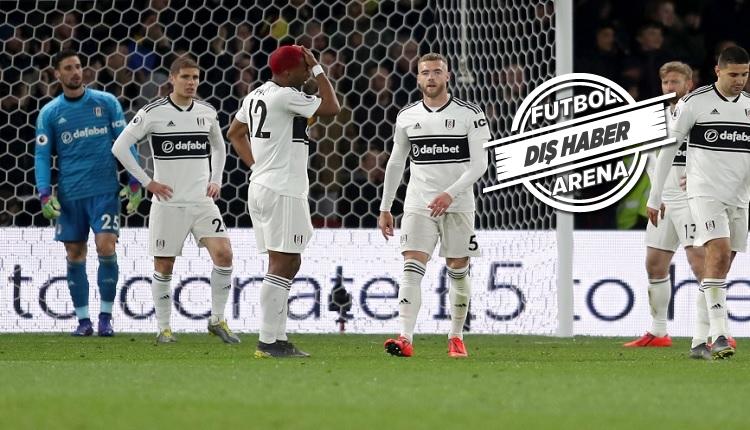 Babel'in takımı Fulham tarihe geçti! Fiyasko
