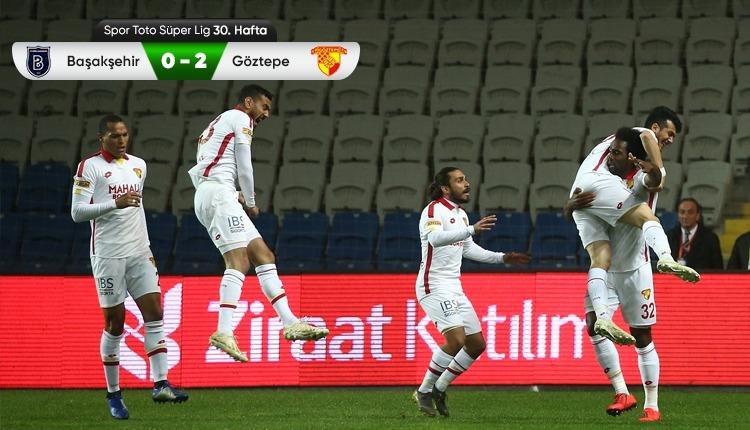 Başakşehir 0-2 Göztepe maç özeti ve golleri (İZLE)