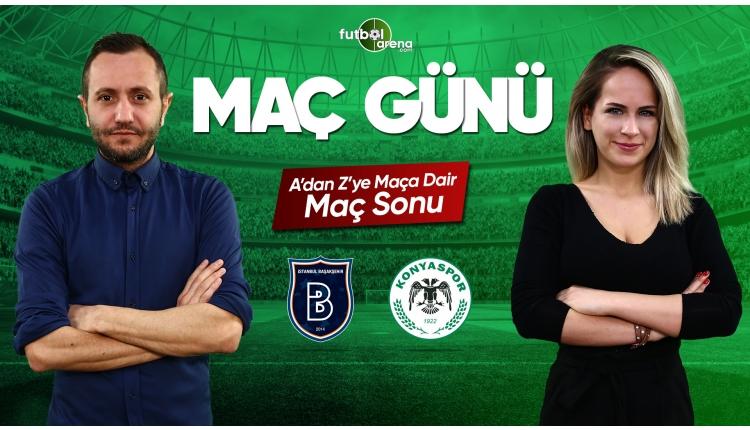 Başakşehir - Atiker Konyaspor maç özeti ve golleri | CANLI