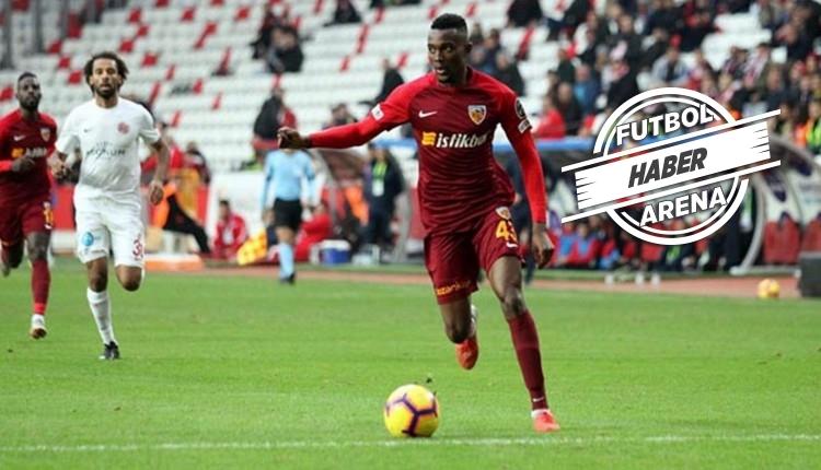 Beşiktaş'a yazılan Mensah için Kayserispor'dan açıklama