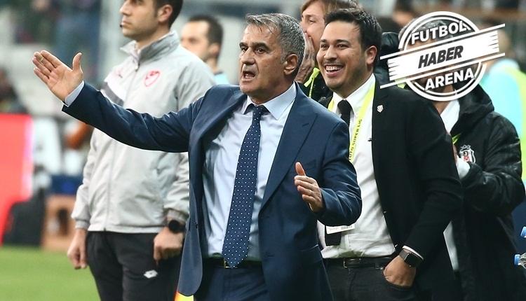 Beşiktaş'ın ilk 11'i açıklandı! Şenol Güneş'ten sol bek kararı