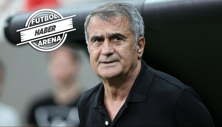 Beşiktaş'ın ilk 11'i açıklandı! Şenol Güneş'ten sol bekte zorunlu tercih