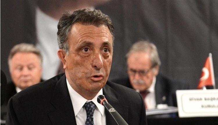 Beşiktaş'ta Ahmet Nur Çebi'den başkanlık açıklaması
