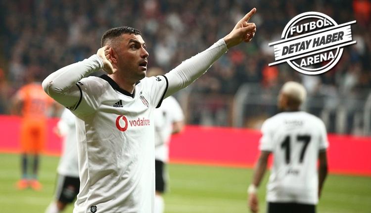 Burak Yılmaz Beşiktaş'ın son 5 golcüsünü solladı
