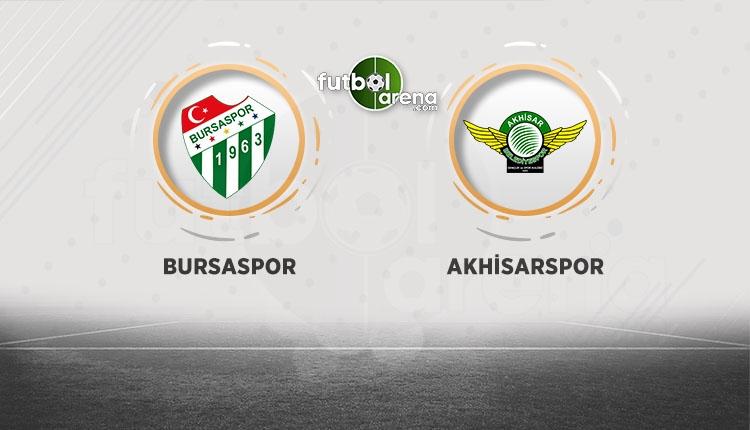 Bursaspor - Akhisarspor maçı canlı izle (beIN Sports canlı izle)