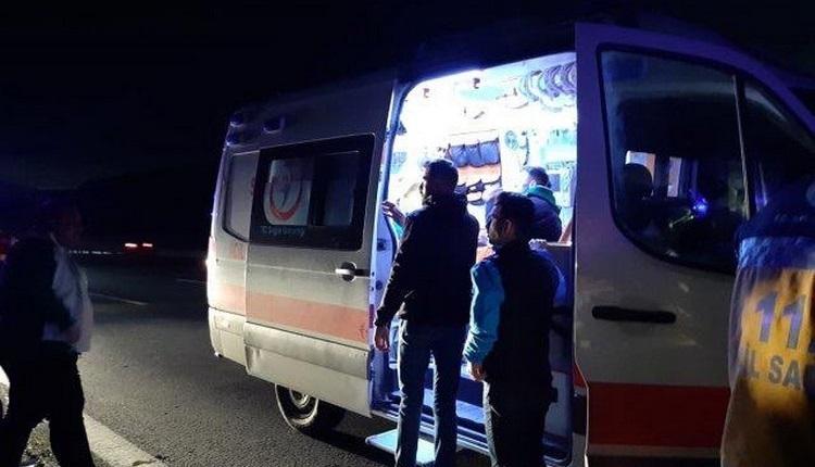 Bursasporlu taraftarlar kaza yaptı! 7 yaralı