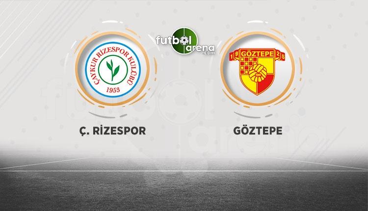Çaykur Rizespor - Göztepe maçı canlı, şifresiz izle (Bein Sports canlı izle)