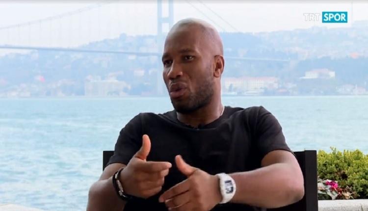 Drogba'dan duygusal Galatasaray ve Fatih Terim sözleri