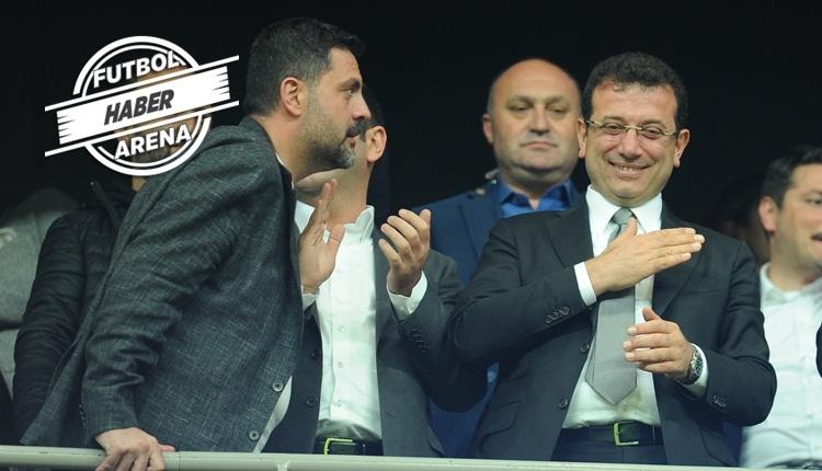 Ekrem İmamoğlu: 'Beşiktaş'ı tebrik ediyorum'
