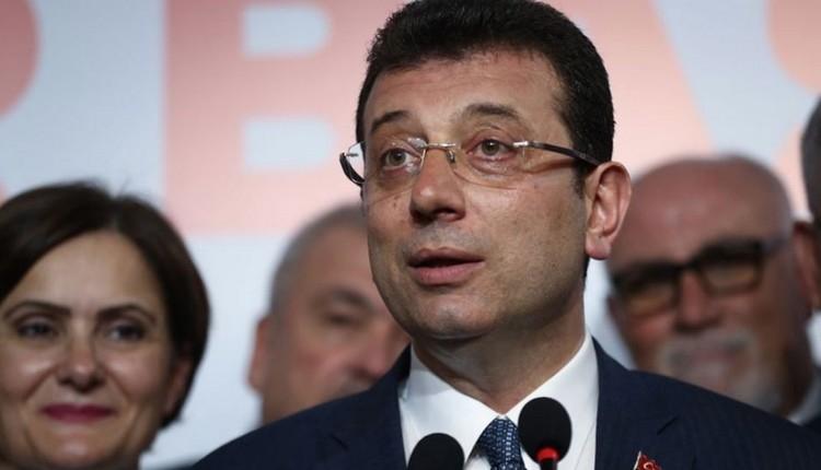 Ekrem İmamoğlu'ndan Başakşehir sorusuna yanıt! 'Benim işim değil'