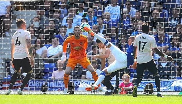 Everton 4-0 Manchester United maç özeti ve golleri (İZLE)