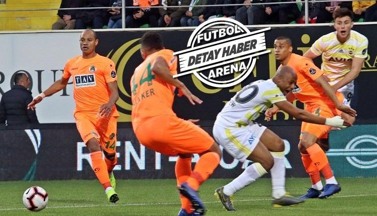 Fenerbahçe, Alanyaspor'a Süper Lig'de ilki yaşattı